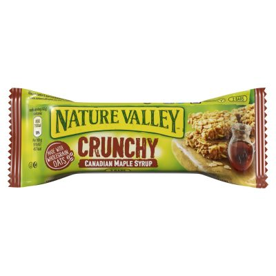 700 6370005 Nature Valley Canadian Maple Syrup bar 42 g C single 1 e1521819579212