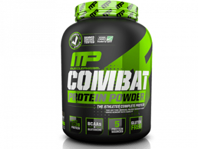 musclepharm mp combat protein powder shake lean muscle 907g fast delivery