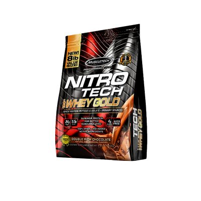 nitrotech whey gold 8 lbs