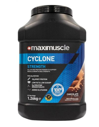 MaxiMuscle Cyclone Chocolate 1.26kg